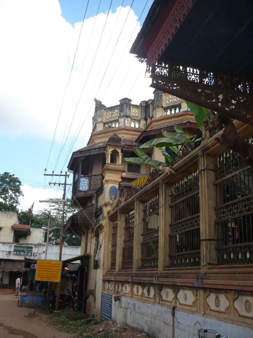 Original Chettinad architecture...