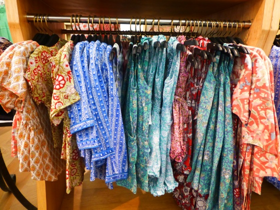 Children's clothes at Anokhi ~ Fort Cochin...