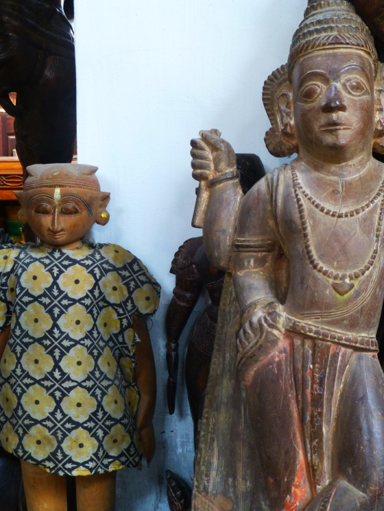 Antiques at Jew Town ~ Fort Cochin...