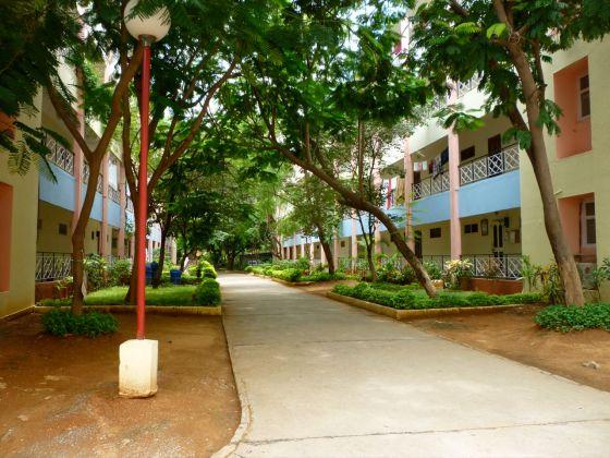 Ashram accommodation...