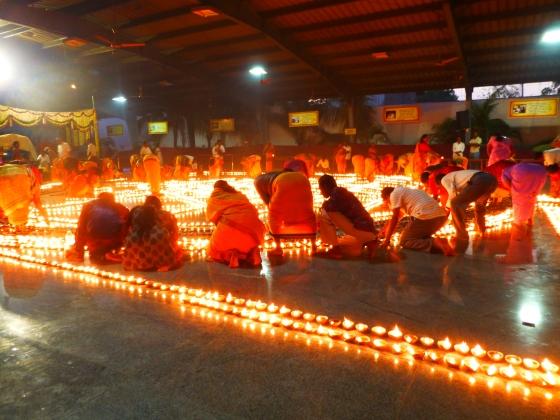 Deepavali at Sripuram, India...