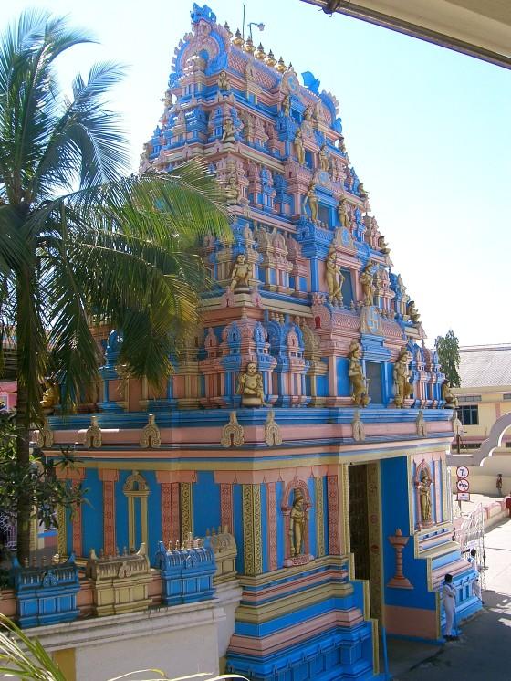 Front gate of ashram...
